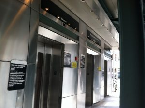 Elevators at the Bergenline Station