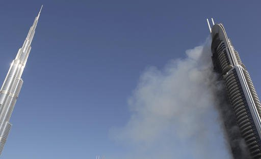 Dubai Emaar Fire