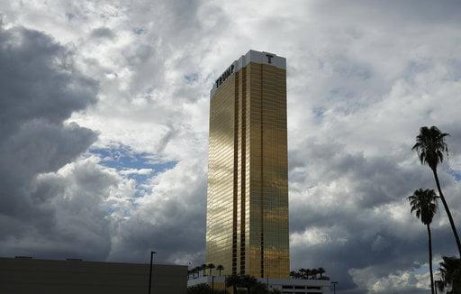 Trump Hotel Fire Las Vegas