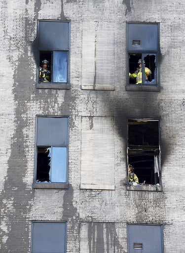 High-Rise Fire-Pittsburgh