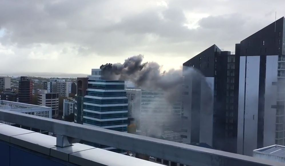 NZAucklandHighriseFire