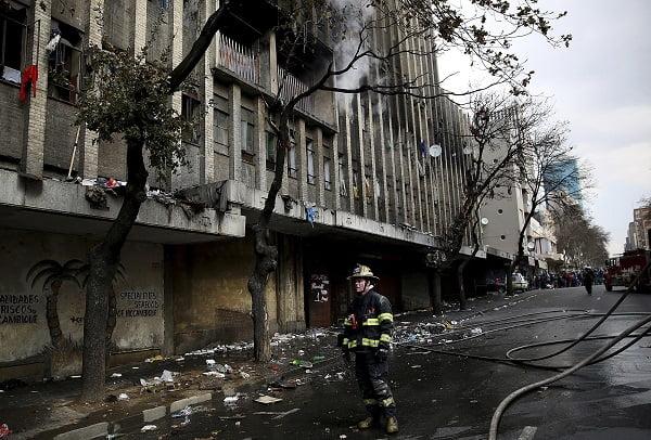 South Africa Fatal Fire