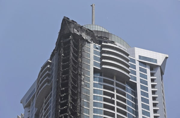 Dubai Tower Fire