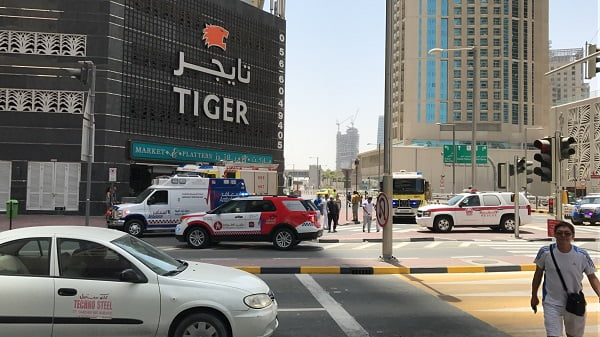 Dubai Tower Fire